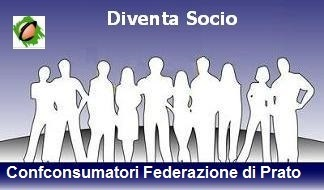 Quota associativa Confconsumatori Prato